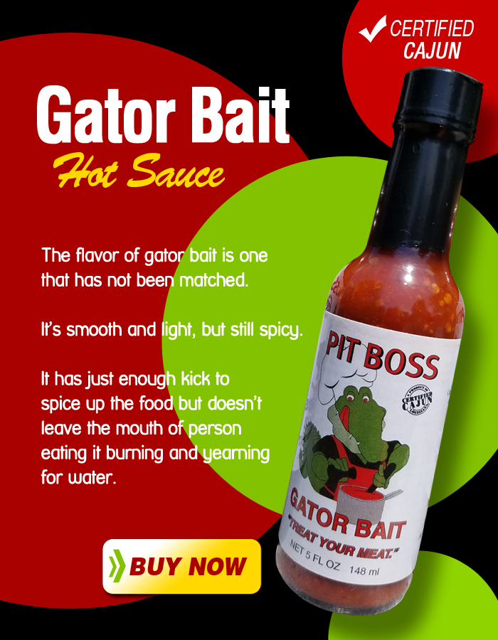 Gator Hot Sauce - Treat Your Meat